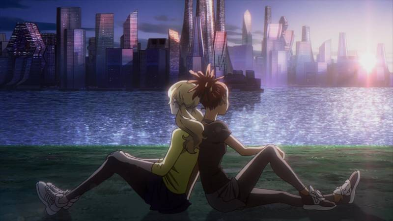 Carole & Tuesday - kadr z anime
