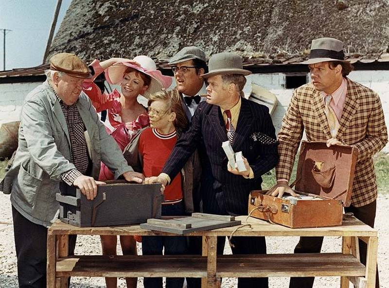 Gang Olsena jedzie do Jutlandii – kadr z filmu