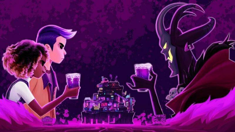 Afterparty — Grafika promocyjna z gry