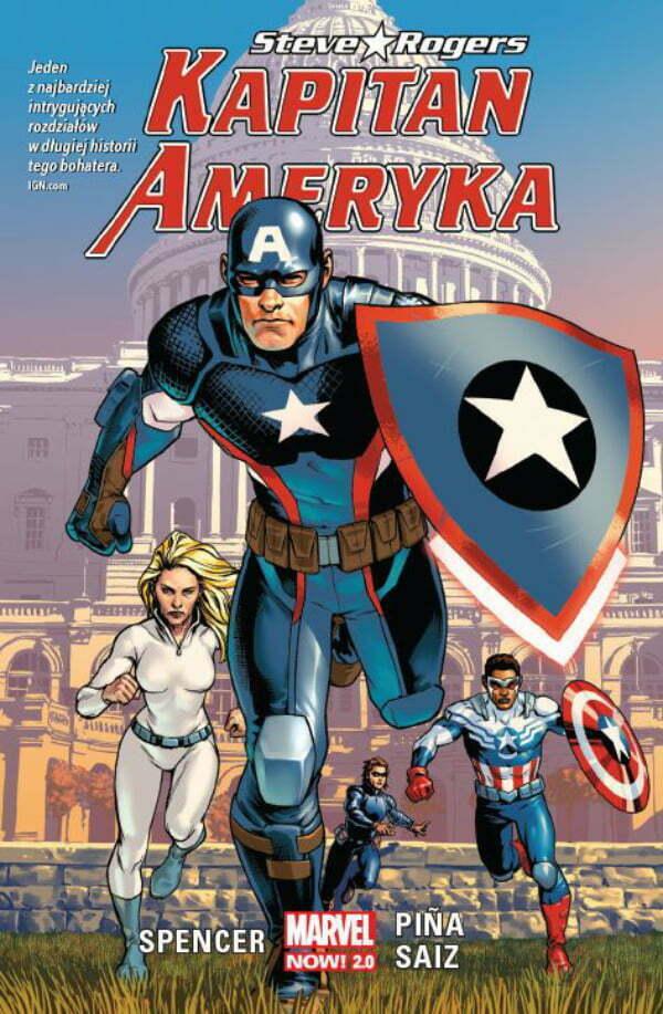 Kapitan Ameryka Steve Rogers — Okładka