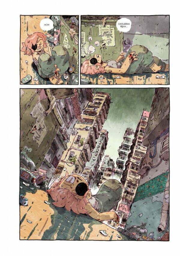 PTSD — Plansza z komiksu
