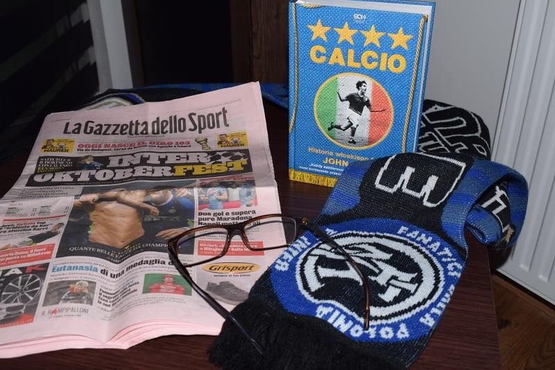 Calcio. Historia włoskiego futbolu. - nie samym czytaniem żyje człowiek