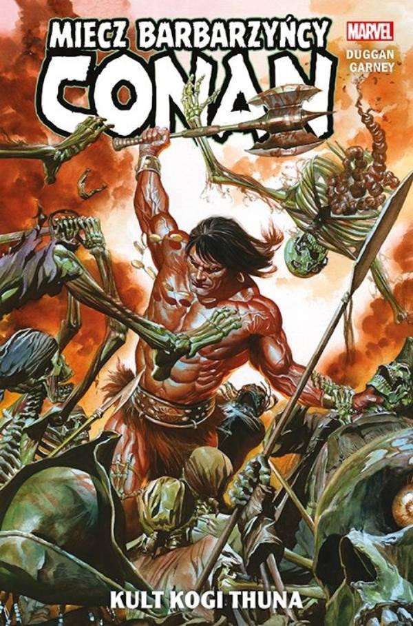 Okładka komiksu Conan - Miecz barbarzyńcy: Kult Kogi Thuna