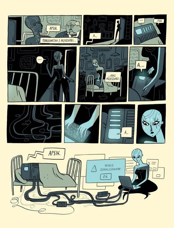 Przykładowa strona z komiksu.