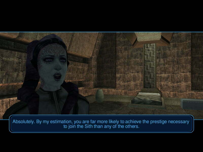 Star Wars: Knights of the Old Republic - zrzut z gry