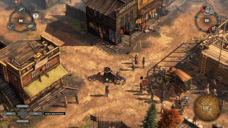 Desperados III - screen z gry