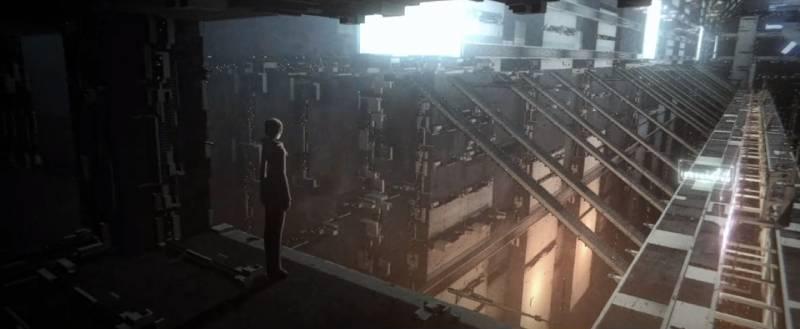Kadr z filmu Blame!