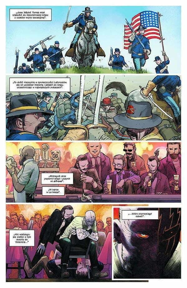 Kick-Ass: Nowa — strona z komiksu