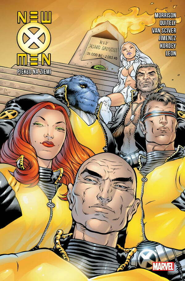 New X-Men: Piekło na ziemi — okładka komiksu