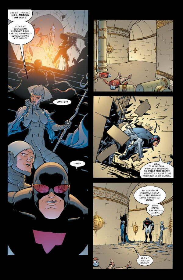 New X-Men: Piekło na ziemi — plansza z komiksu
