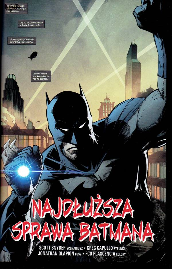 Batman. Detective Comics #1000 -  przykładowa strona z komiksu