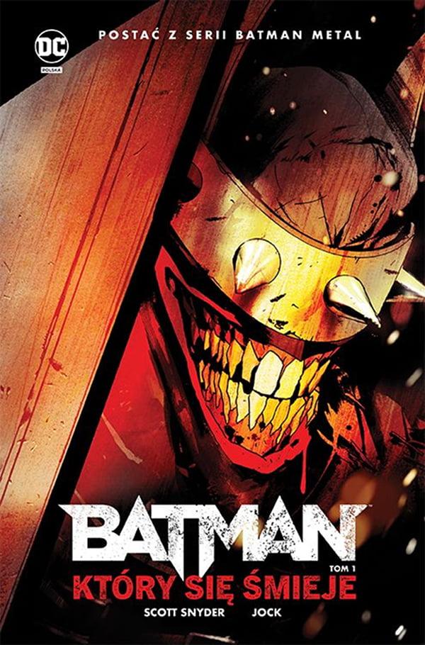 Batman, Który się Śmieje - urocze lico