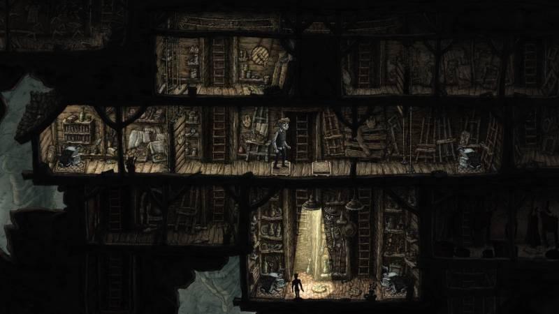 Creaks - screen z gry