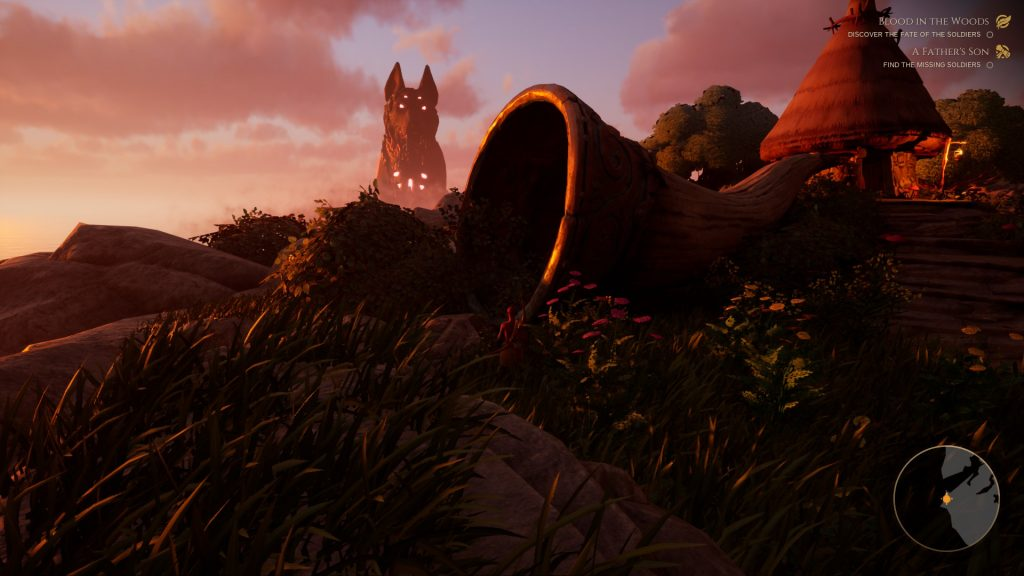 The Waylanders - screen z gry