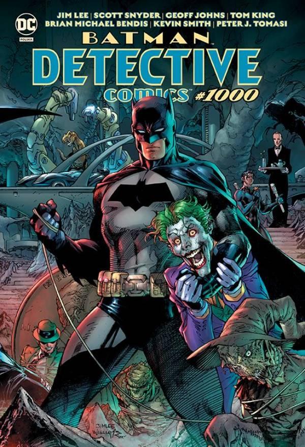 Batman. Detective Comics #1000 - okładka komiksu