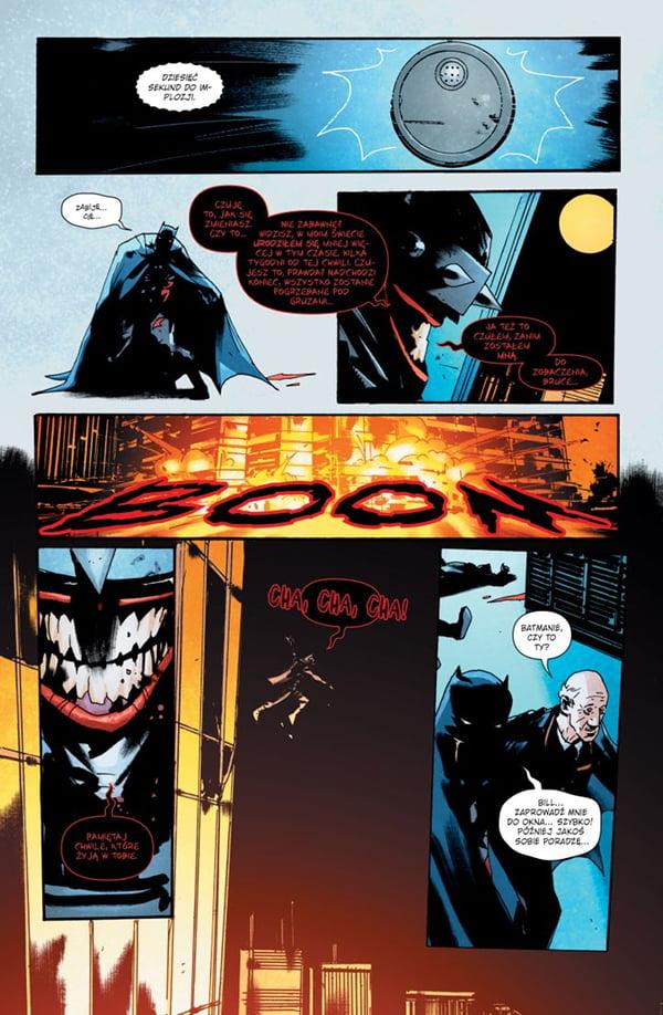 The Batman Who Laughs - kadr w komiksu