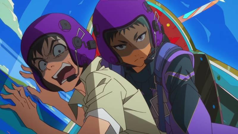 Great Pretender - scena z anime