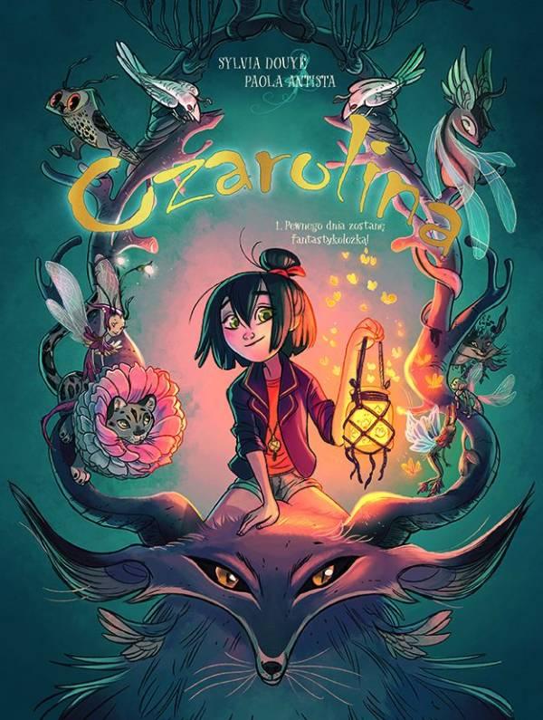 Czarolina Tom 1 - okładka komiksu