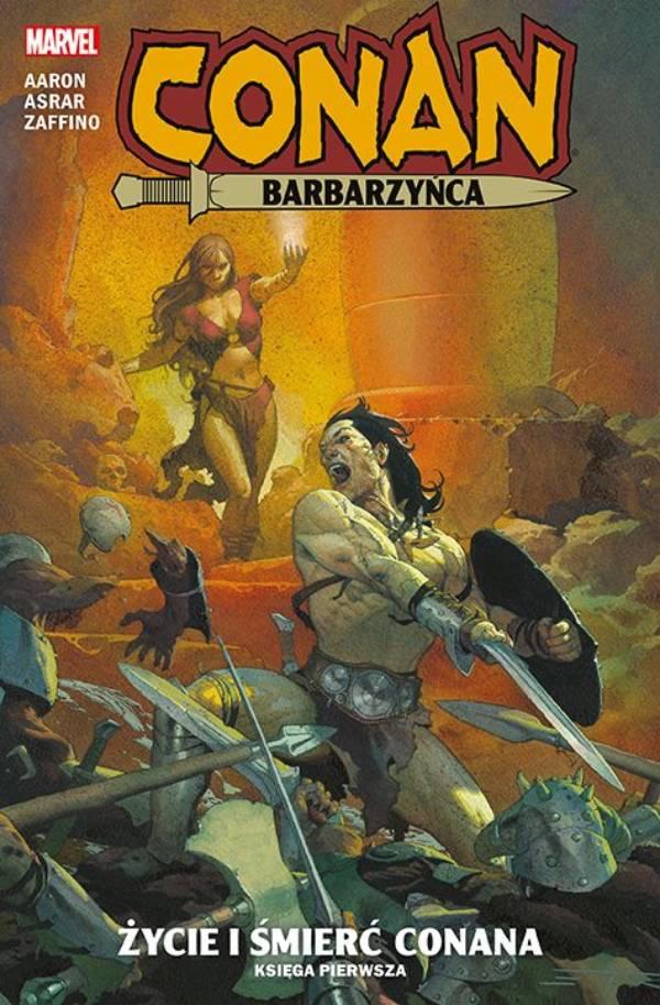 Conan Barbarzyńca Tom 1: Życie i śmierć Conana - okładka komiksu