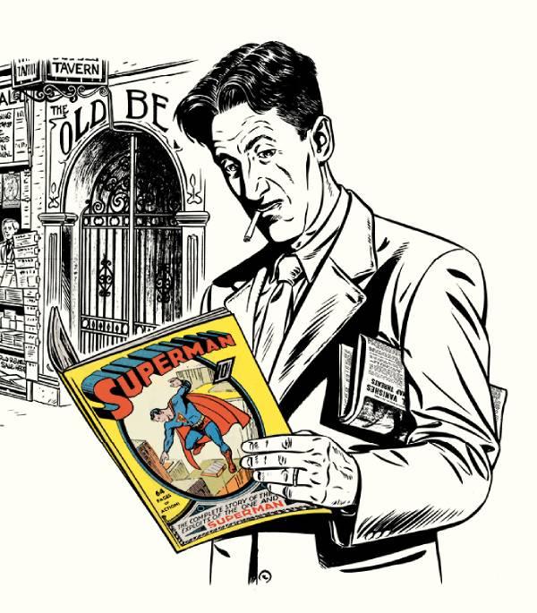 A dlaczego Supermana? Hmm...