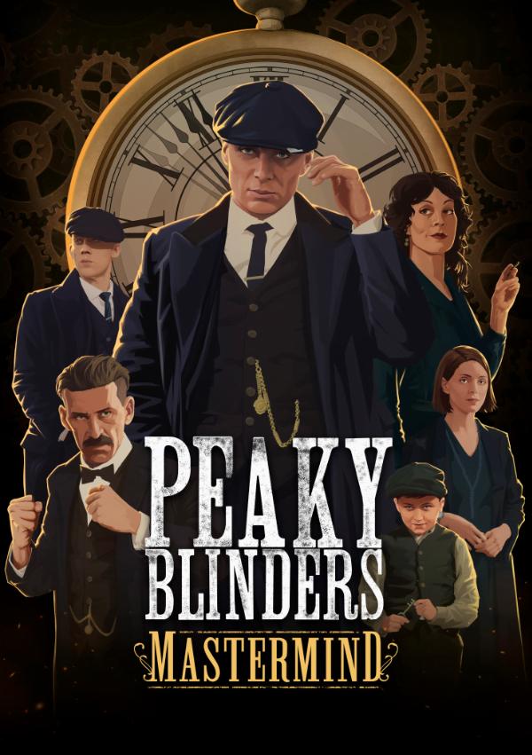Peaky Blinders: Mastermind - okładka