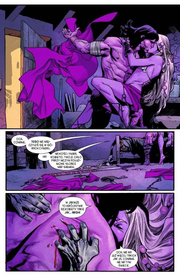 Przykładowa strona komiksu