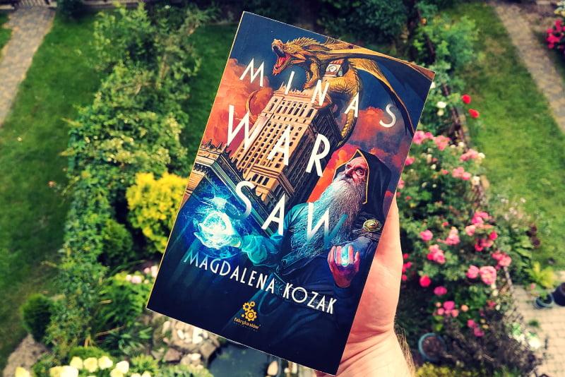 Minas Warsaw - odkładka książki