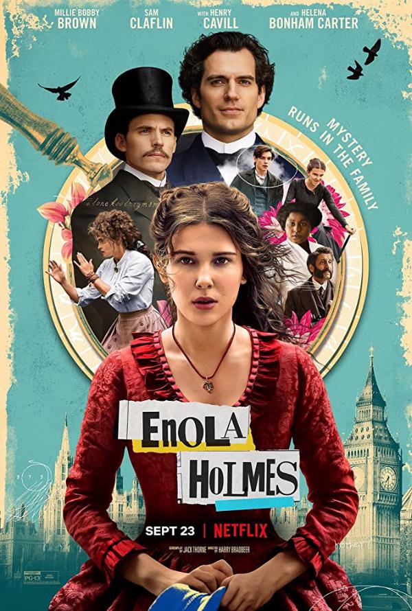 Enola Holmes - Plakat promocyjny