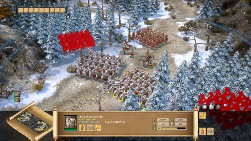 Praetorians: HD Remaster - screen z gry