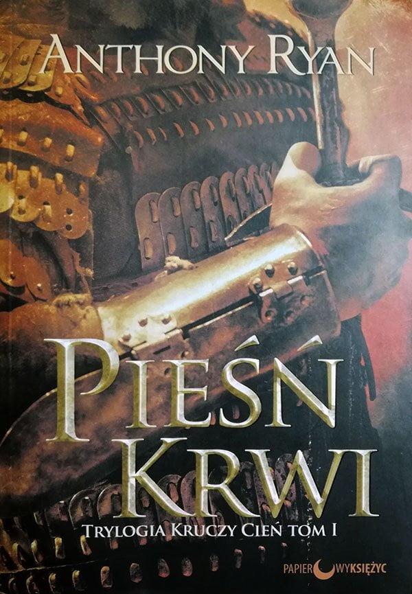 Tak się prezentuje polskie wydanie debiutu Anthonego Ryana.