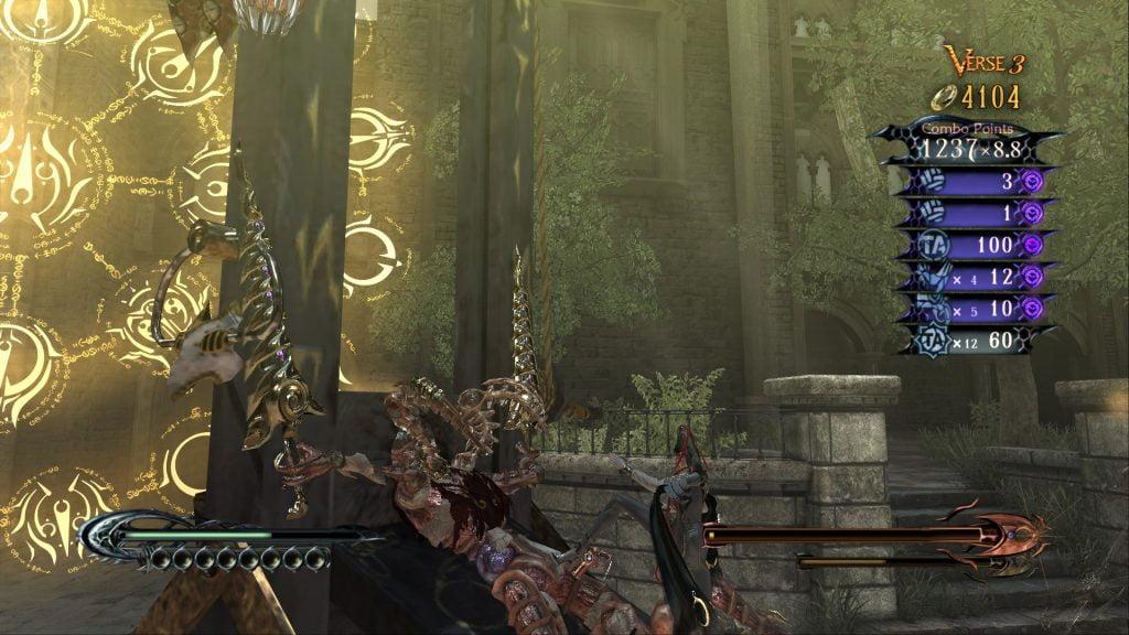 Satysfakcjonujący Torture Attack kończący jednego z przeciwników.