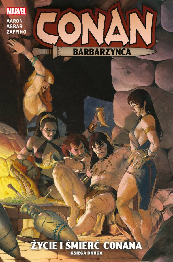 Conan Barbarzyńca: Życie i śmierć Conana Tom 2 - okładka komiksu