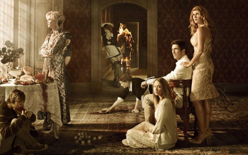 American Horror Story. Murder House - plakat serialu