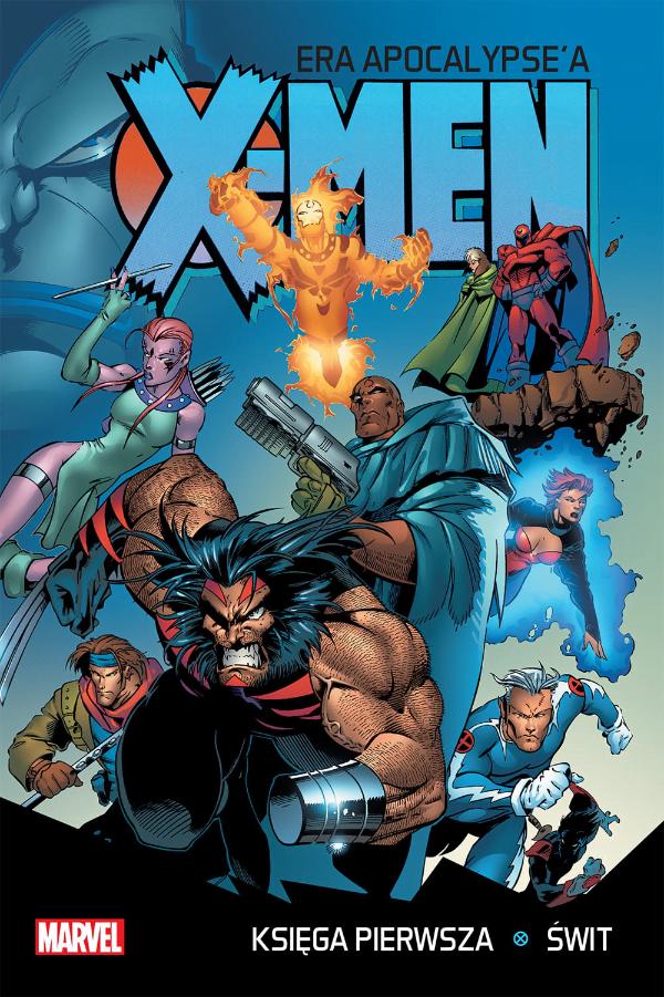 X-Men Era Apocalypse'a - Okładka