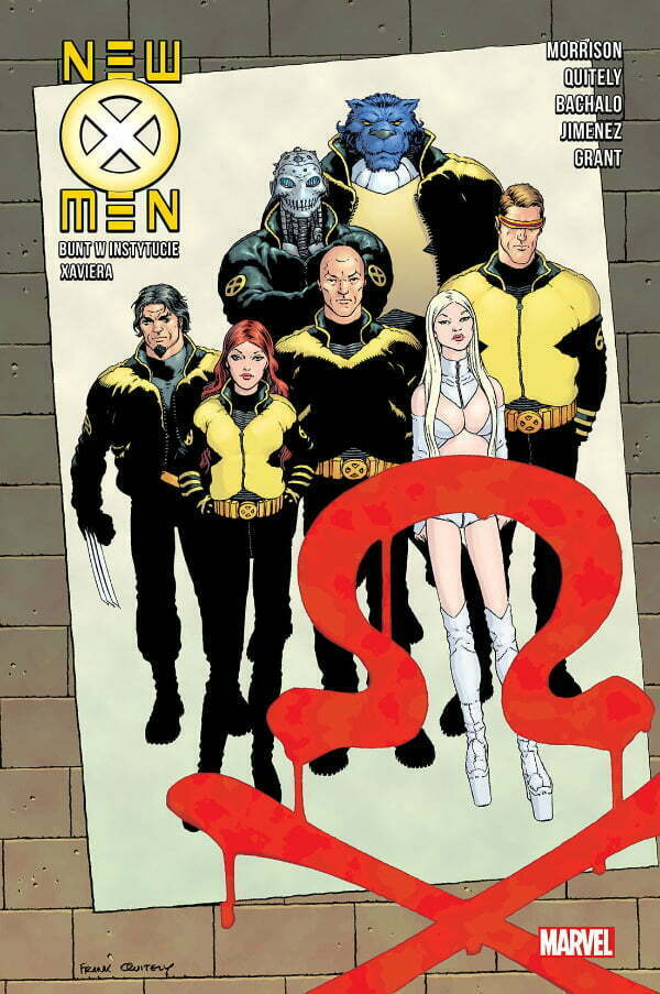 New X-Men - Okładka