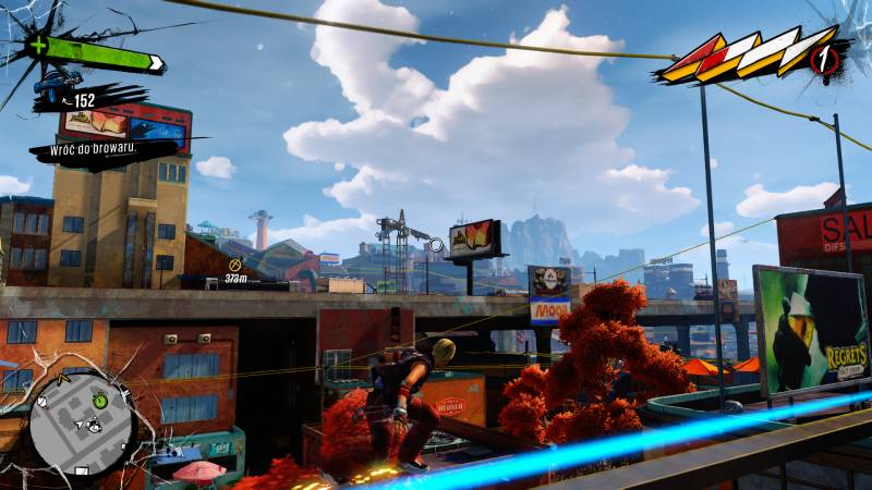 Screen z gry - Sunset Overdrive