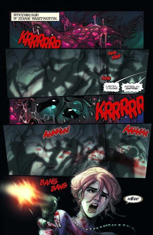Mercy — Plansza z komiksu