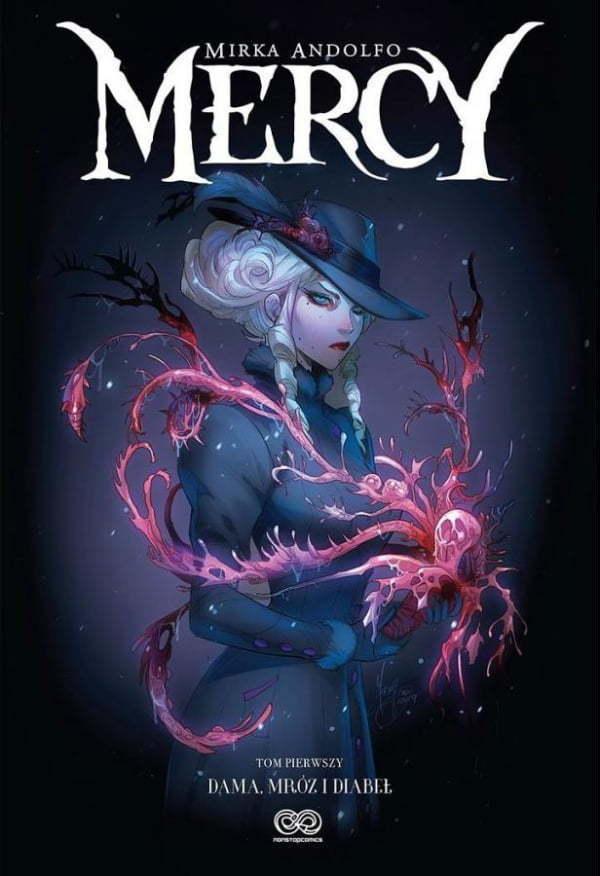 Mercy — Okładka komiksu