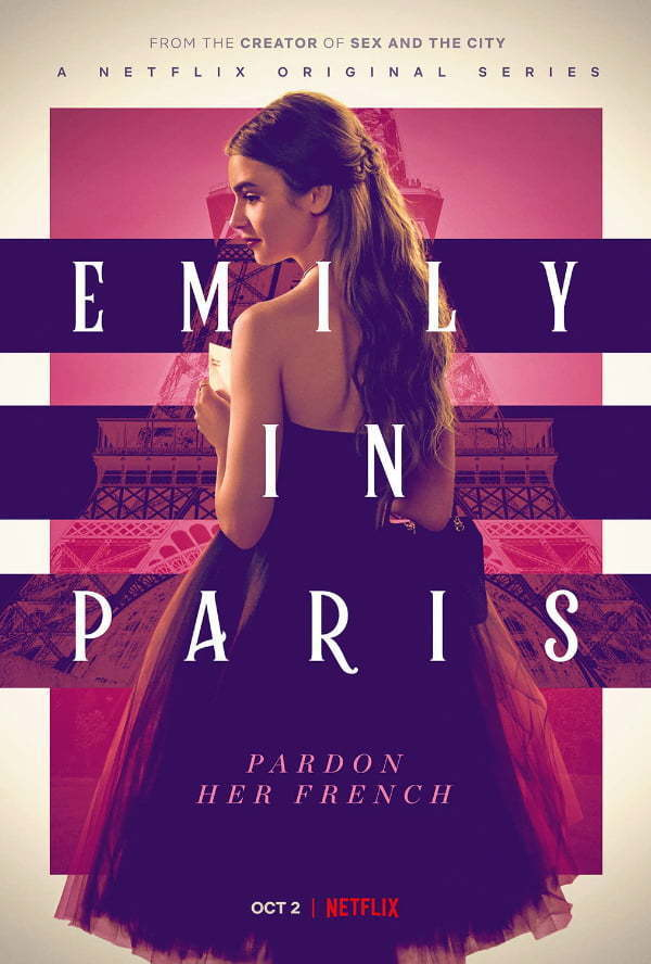 Emily in Paris - Plakat serialu