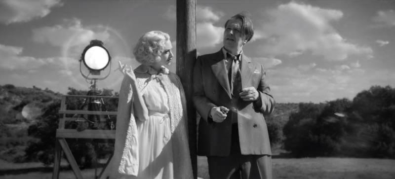 Scena z filmu Mank