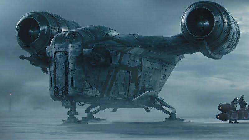Jeśli SW to nie może zabraknąć pojazdów kosmicznych.
