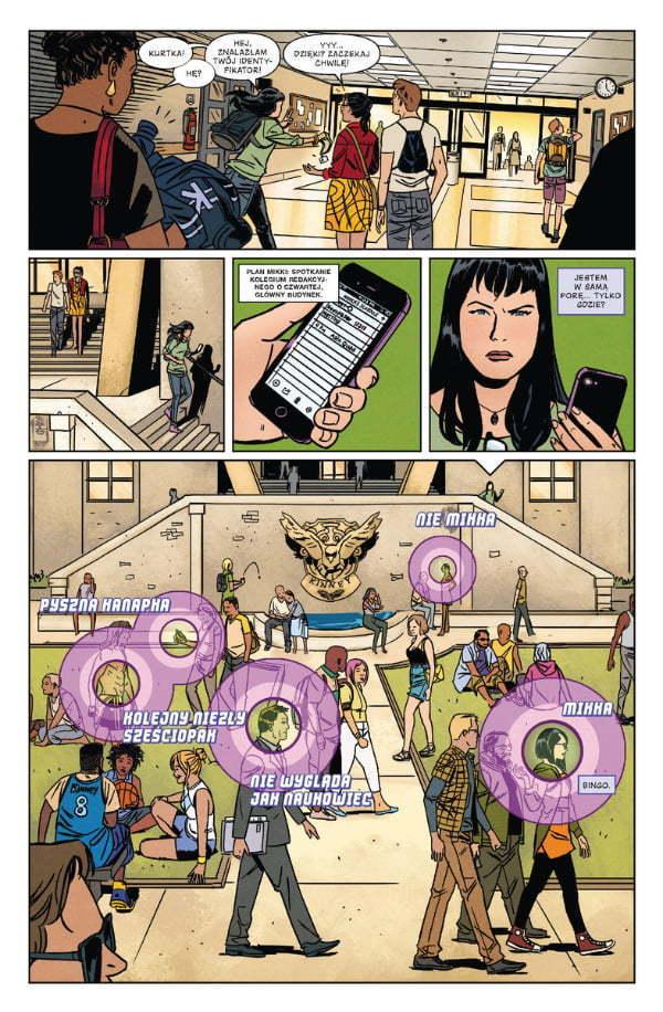 Hawkeye - Kate Bishop - Strona z komiksu