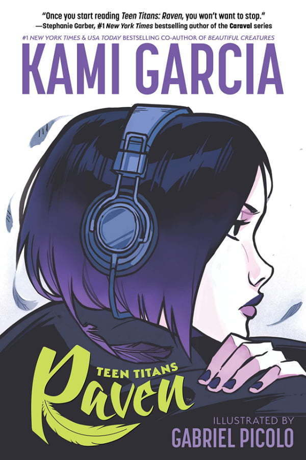 Teen Titans Raven - okładka komiksu