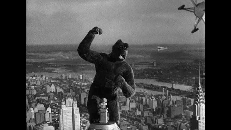 Klatka z filmu King Kong