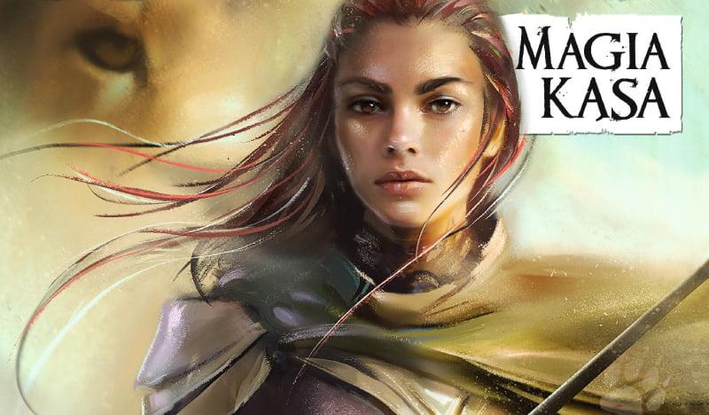 Magia Kąsa - okładka książki (wznowienie)