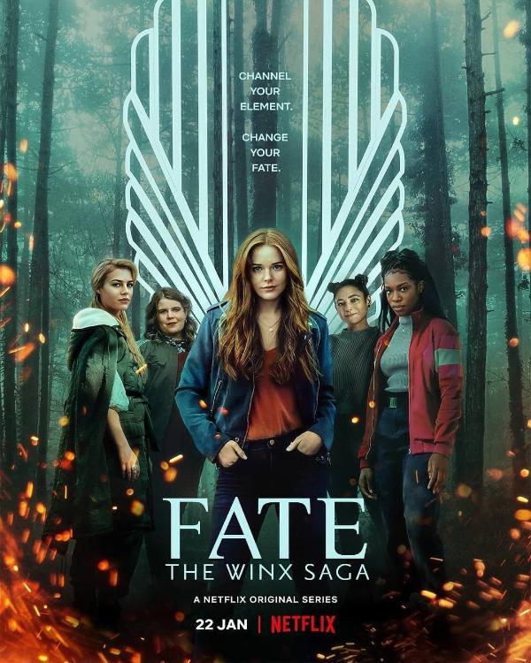Przeznaczenie: Saga Winx - plakat serialu