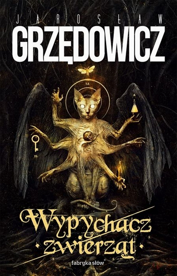 Mroczna, sugestywna okładka tomu opowiadań Jarosława Grzędowicza