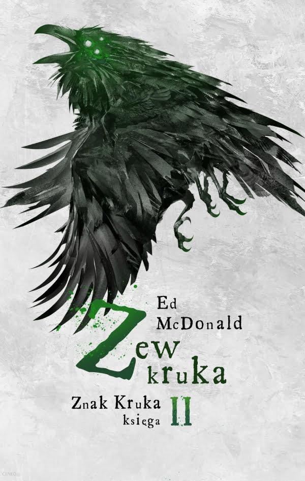 Zew kruka - okładka książki