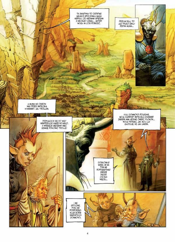 Świat Dryftu - przykładowa strona z komiksu