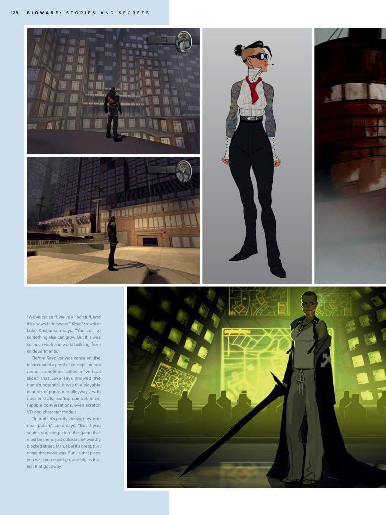 BioWare: Stories and Secrets - przykładowa strona